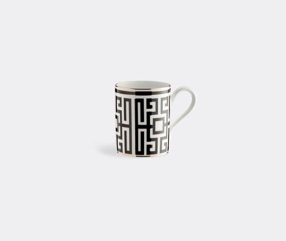Ginori 1735 'Labirinto' mug, black