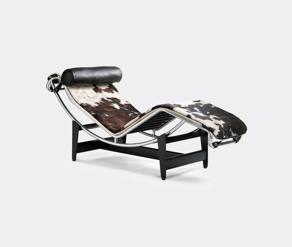 Cassina 'LC4' chaise longue, hairyskin