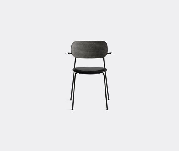 Menu 'Co Chair' with armrests, black back