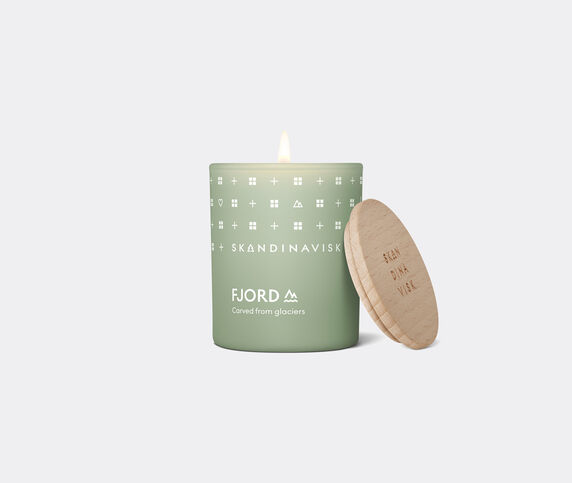 Skandinavisk 'Fjord' scented candle with lid