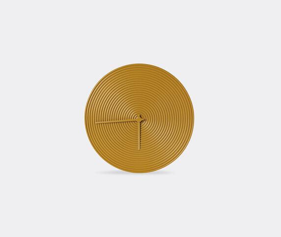 Atipico 'Ring' wall clock, yellow