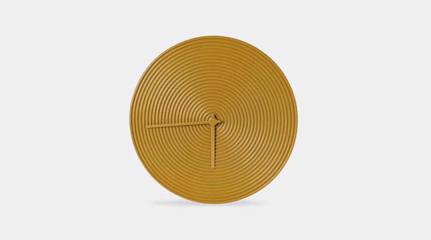 Atipico Ring Clock Ceramic Wall Clock - Ø Mm 335Xh.35 - Honey Yellow 1