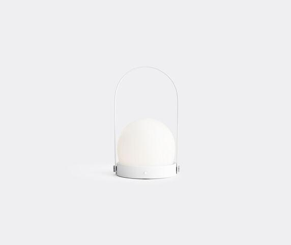 Menu 'Carrie' lamp, brushed white, EU plug