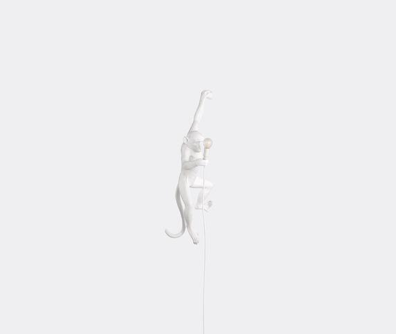 Seletti 'Monkey' lamp hanging, left, EU plug