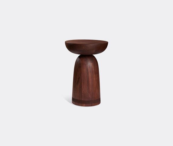 Zanat 'Nera' stool, walnut