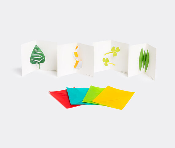 Good morning inc. 'Leaves' pop-up message card