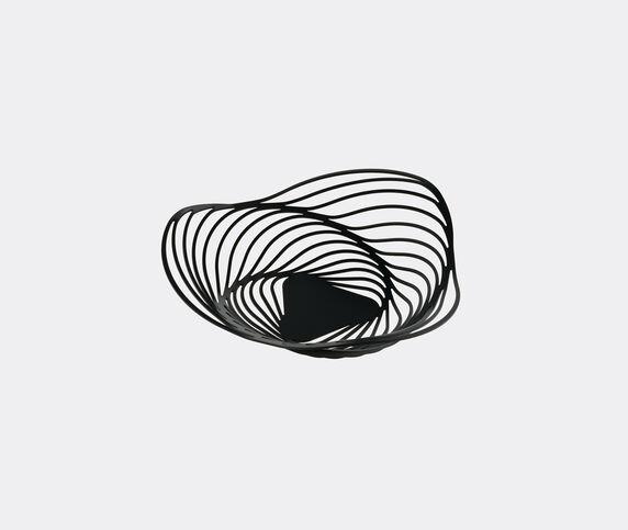 Alessi 'Trinity' basket, black
