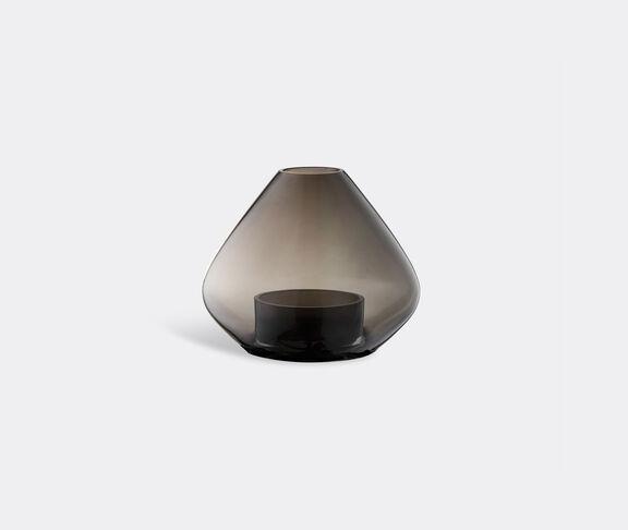 AYTM 'Uno' lantern and vase, black, small