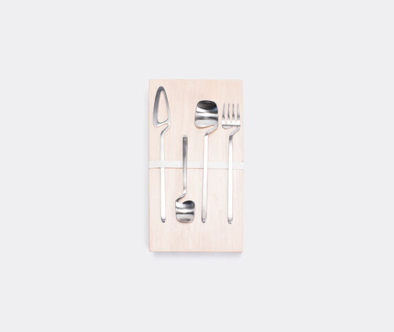 Valerie_objects Nendo 'Giftbox' set, stainless steel, 16 pieces