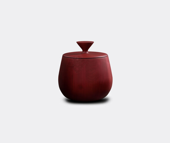 Zanat 'Hide & Seek' container and coffee table, medium, burgundy