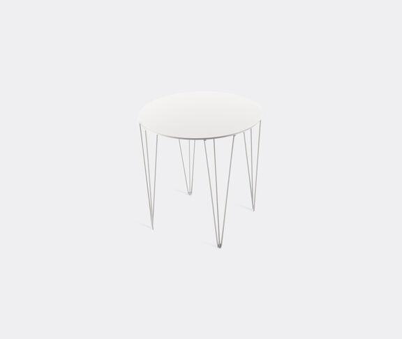 Atipico Chele Rounded Coffee Table - Cm. Ø 40Xh.40 - Signal White 2