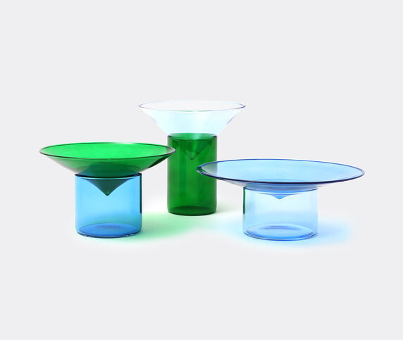 Tre Product 'Vovo' glasses, blue and green