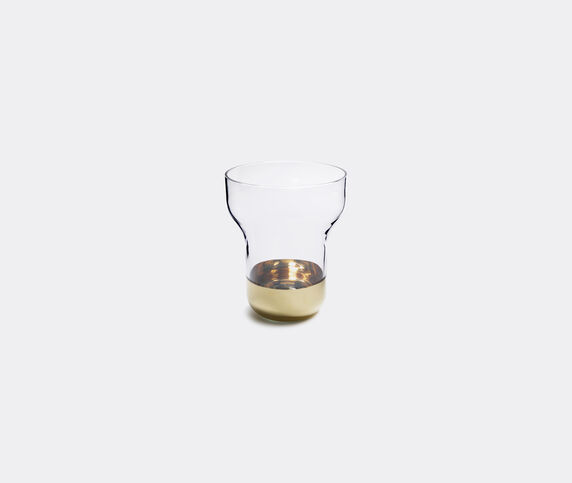 Nude 'Contour' gold vase
