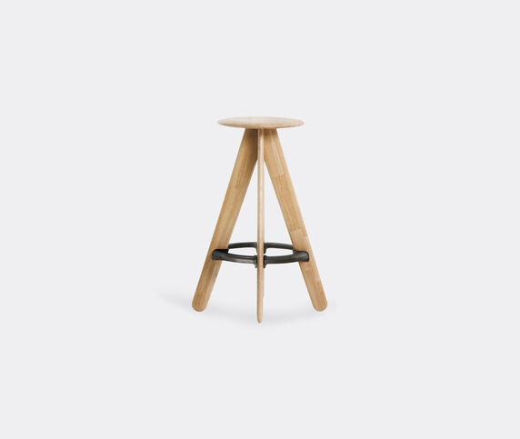 Tom Dixon 'Slab' stool, natural oak