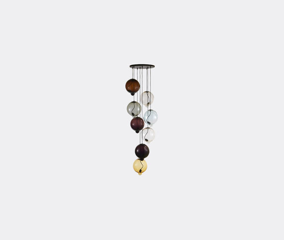 Cappellini 'Meltdown' lamp, eight pendants, EU plug
