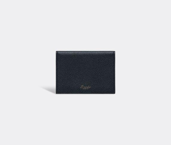 Pineider '720 JP' business card holder, navy