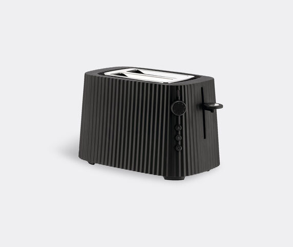 Alessi 'Plissé' toaster, black, EU plug