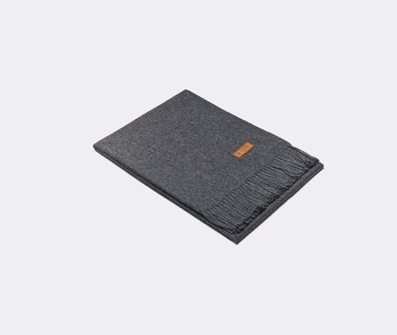 Innata 'Essential Plaid' blanket, dark grey