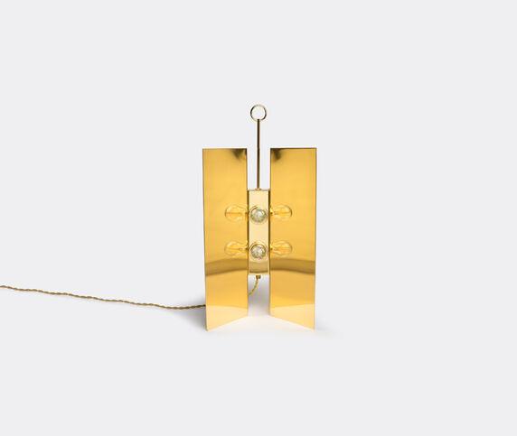 Marta Sala Éditions 'LP1 Claudia Applique' table lamp, brass