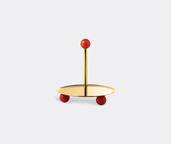 Sambonet 'Penelope' pastry stand, coral