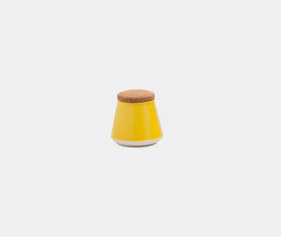 Established & Sons 'Store' jar, S, gloss yellow