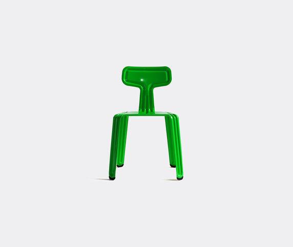Nils Holger Moormann 'Pressed Chair', glossy greenhorn