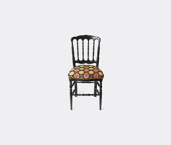 Gucci 'Francesina' chair, black and yellow
