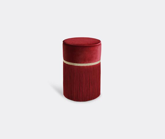 Lorenza Bozzoli Couture 'Couture' ottoman, small, red