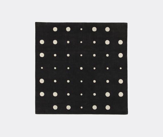 Amini Carpets 'Bubbles' rug 3, black and white