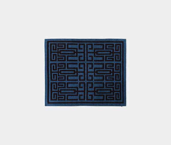 Amini Carpets 'Labrinto' rug, blue and black