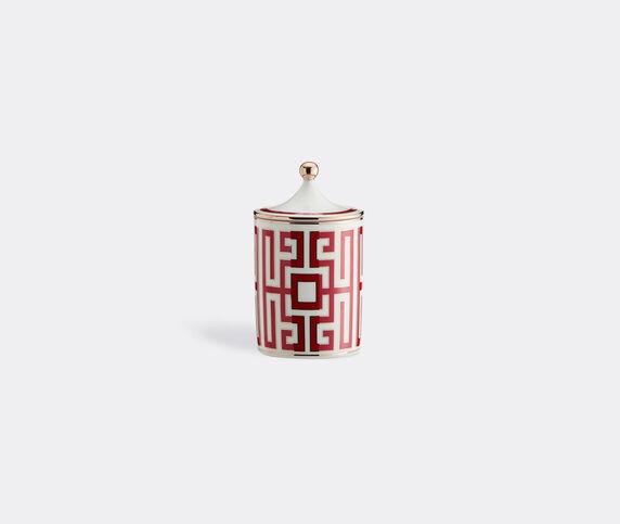 Ginori 1735 'Labirinto' candle, red