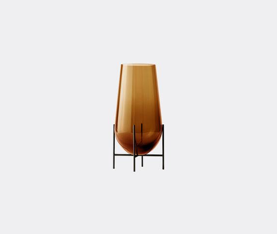 Menu 'Echasse' vase, amber, large
