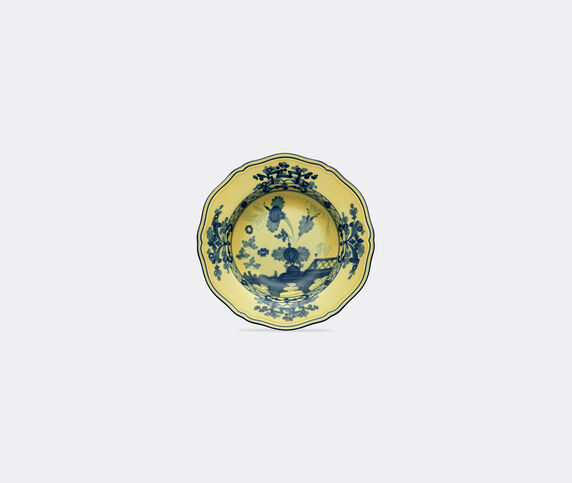 Ginori 1735 'Oriente Italiano' dessert plate, citrino, set of two