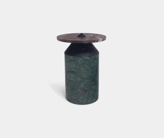 MMairo 'Totem' coffee table, black green and red