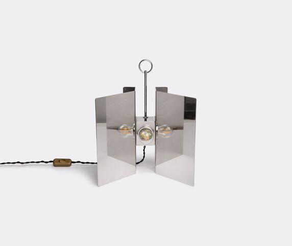 Marta Sala Éditions 'LP1 Claudia Applique' table lamp, stainless steel