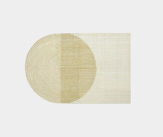 GAN 'Ply' rug, yellow
