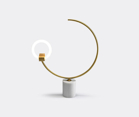 CT Lights 'Arges' table and floor lamp, white
