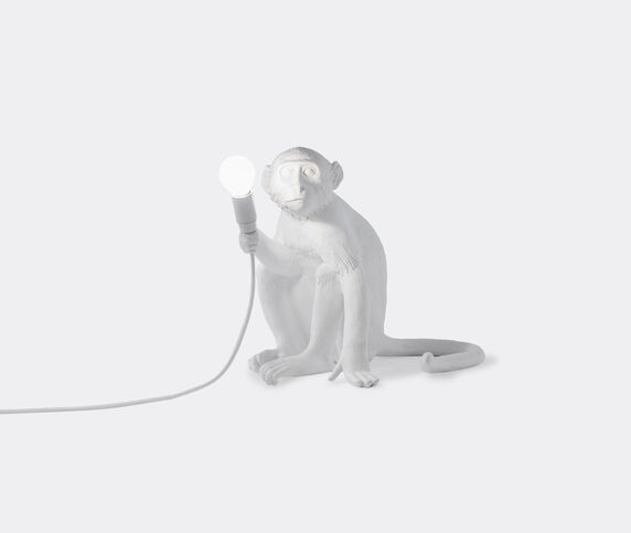 Seletti 'Monkey' lamp sitting, EU plug