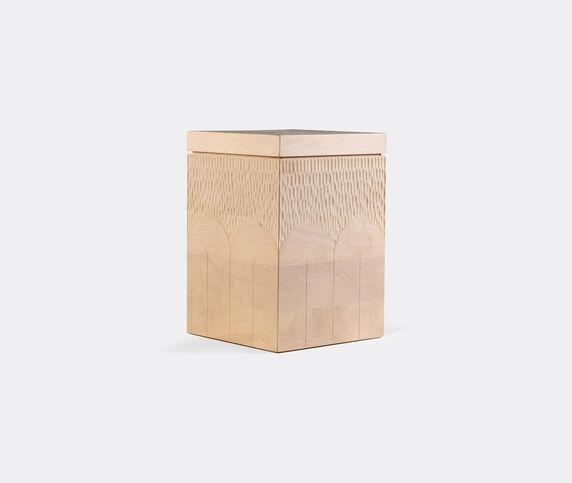 Zanat 'Branco' box, tall, beige