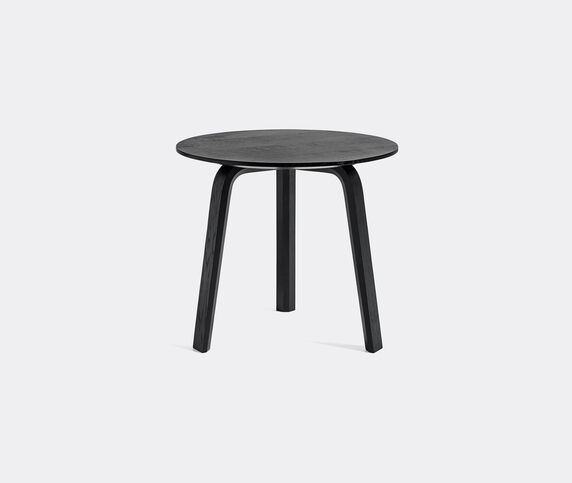 Hay 'Bella' coffee table, small, black water based lacquered