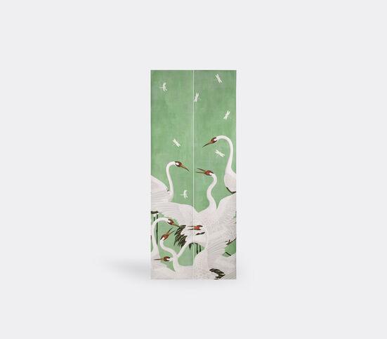 Gucci 'Heron' print wallpaper, green