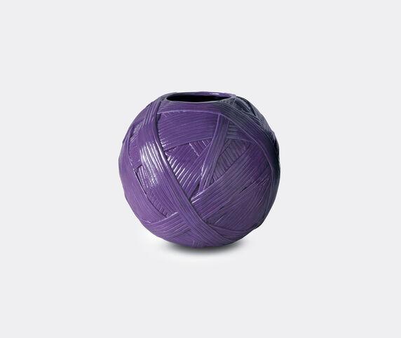Missoni 'Gomitolo' vase, large, purple
