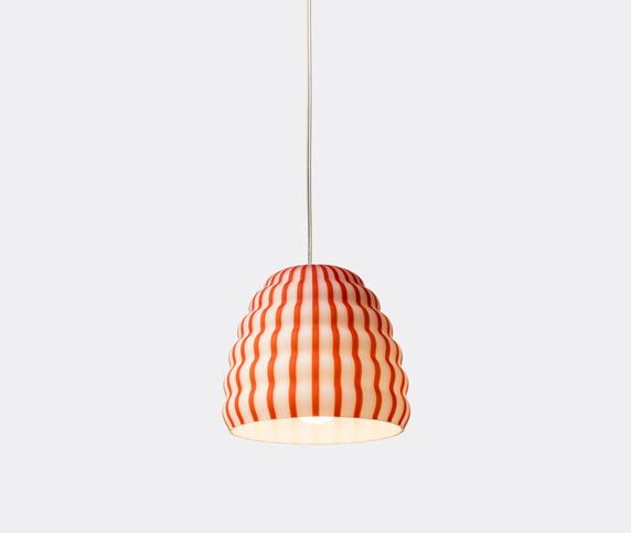 Established & Sons 'Filigrana Beehive' light, white and red