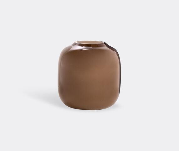 Cappellini 'Arya' vase, brown