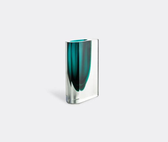 Venini 'Octagono' vase, aquamarine green