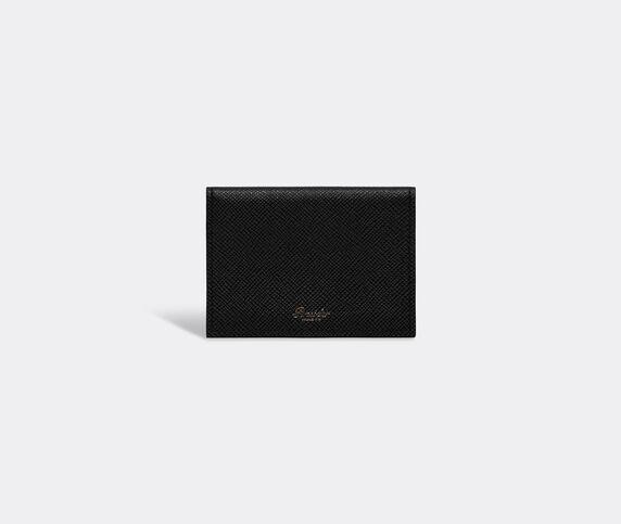 Pineider '720 JP' business card holder, black