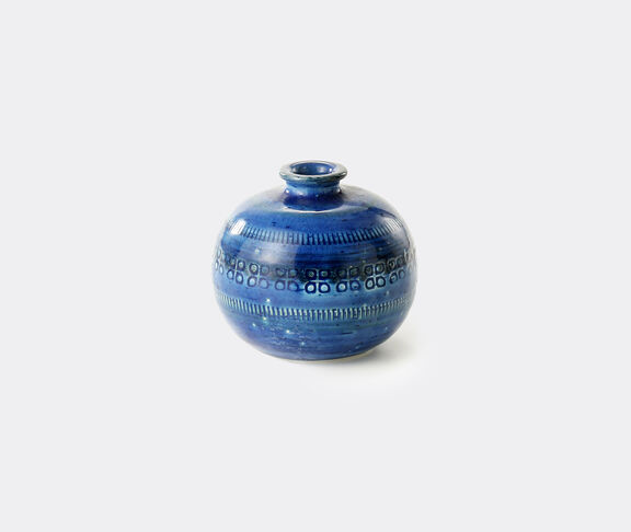 Bitossi Ceramiche 'Rimini Blu' bowl vase, small