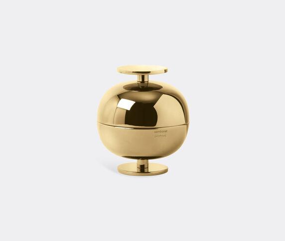 Sambonet Small 'Gio Ponti' luxury centrepiece, gold