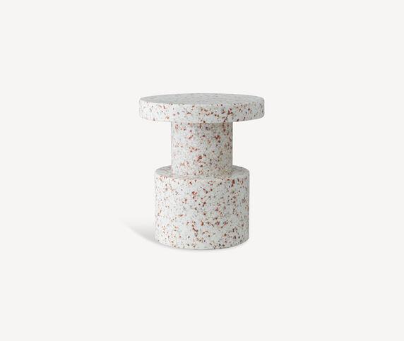 Normann Copenhagen 'Bit' stool, white