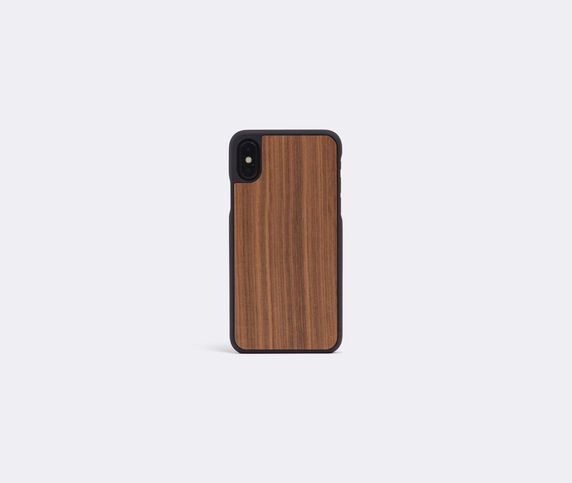 Wood'd Walnut iPhone X cover